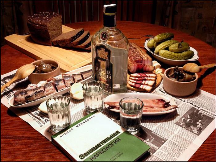 водка и закуска фото - 15