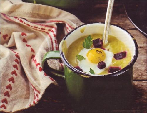 рецепты супов суп с глазуньей