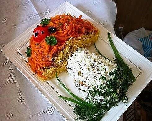 рецепты салатов Гриб Боровик