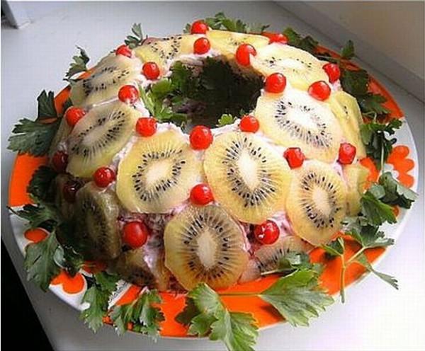 рецепты салатов оглавление рубрики