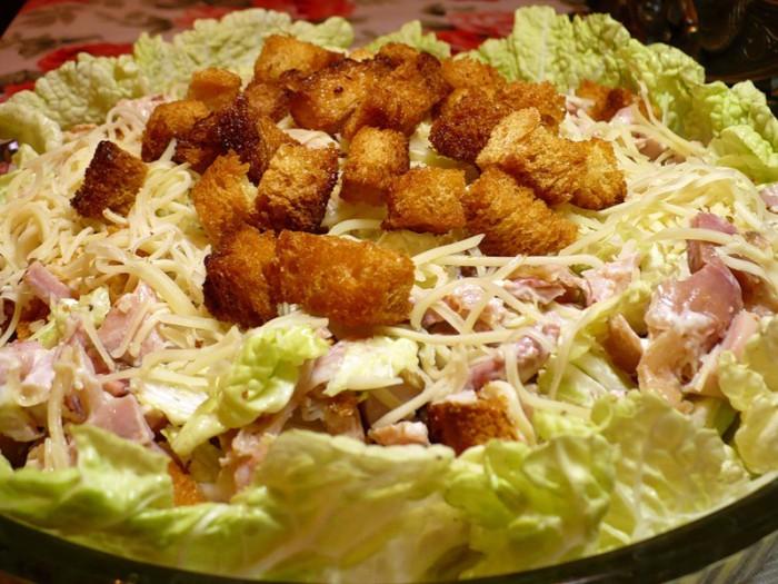 Салатики из курицы рецепты