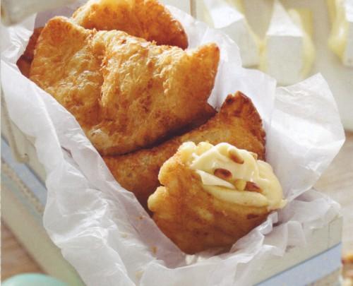 десерты слойки с сыром и яблоками