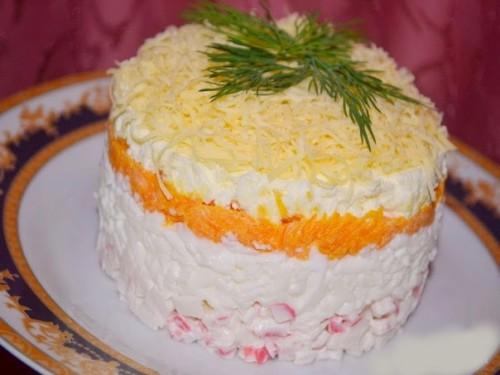 рецепты салатов салат Нежность