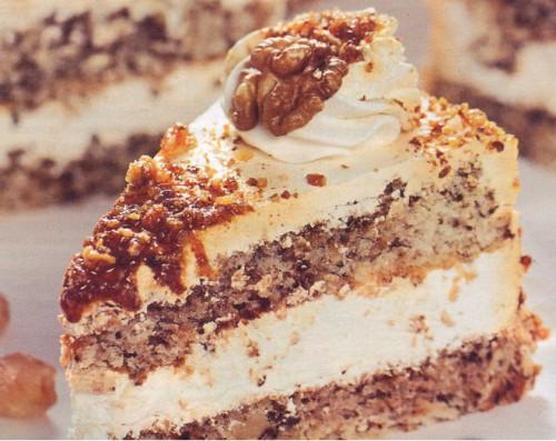рецепты тортов торт ореховый без муки