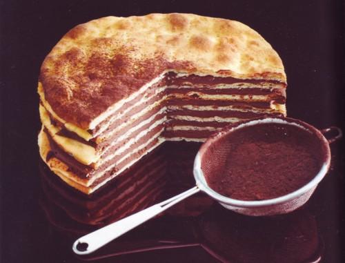 рецепты тортов торт творожный с шоколадом