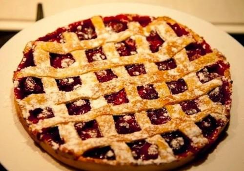 пироги рецепты вишневый пирог