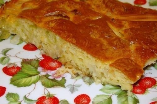 пироги рецепты ленивый пирог с капустой