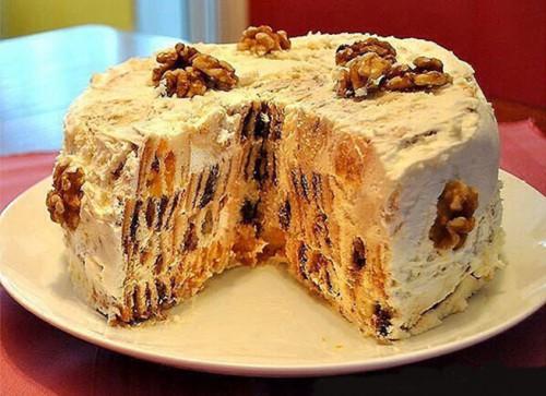 рецепты торотов Трухлявый пень