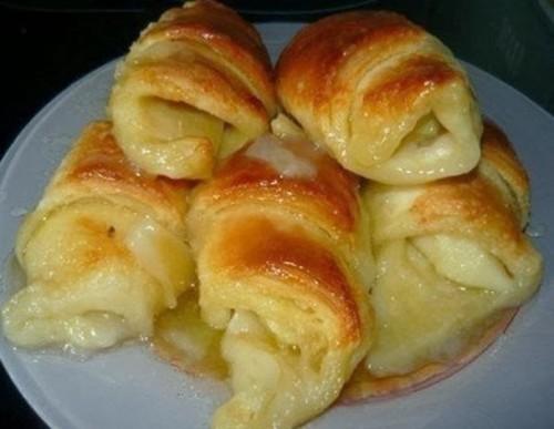 выпечка рецепты слойки с яблоками
