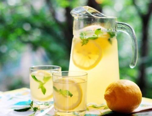 домашний лимонад классика
