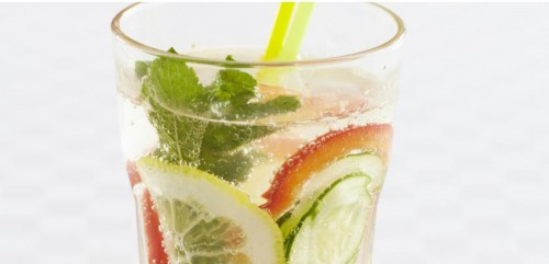 домашний овощной лимонад