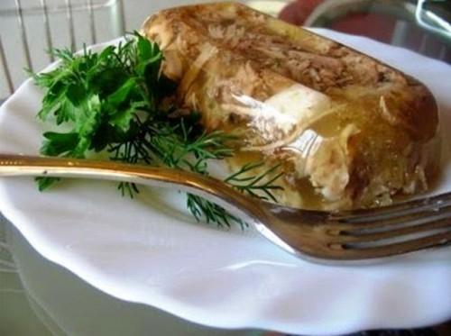 рецепты из курицы холодец Традиционный