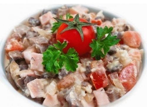 рецепты салатов Итальянский полдень