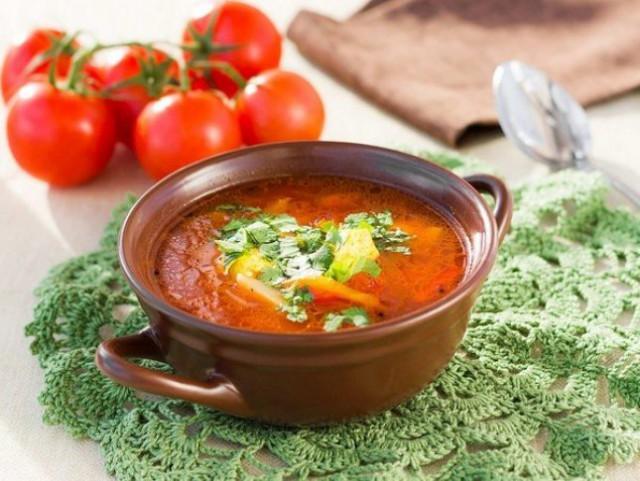 традиционный суп Харчо - 02