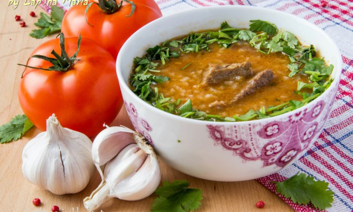 традиционный суп Харчо - 01
