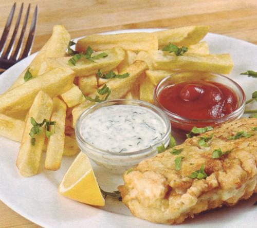 рецепт рыба под соусом тартар