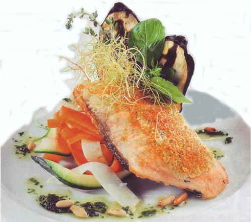 рыбные рецепты семга в сырной корочке