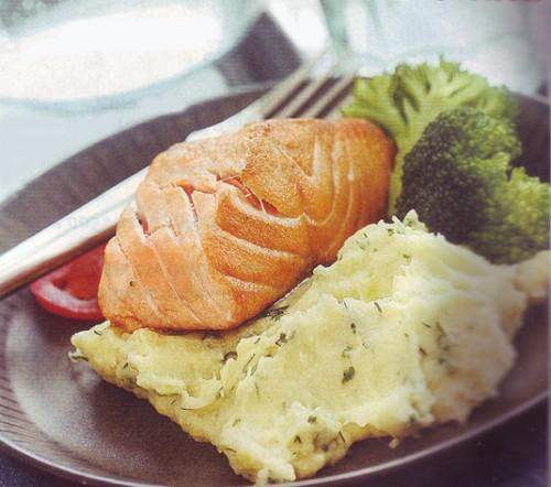 рыбные рецепты семга запеченная в духовке