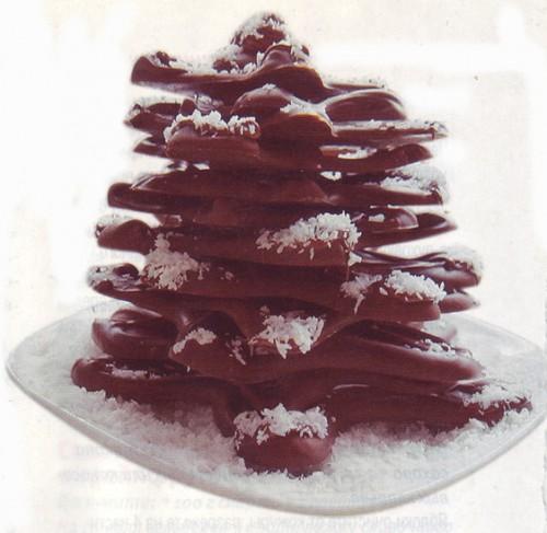 десерты шоколадная елочка - 1