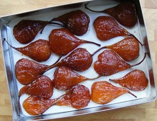 цукаты из груш Янтарные купола