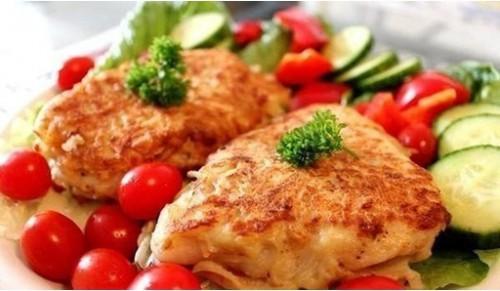 рыба жареная в картофельном кляре