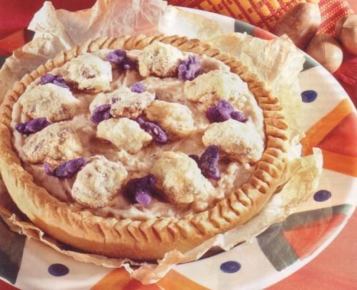 сладкий картофельный пирог