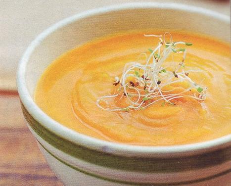суп морковно-апельсиновый