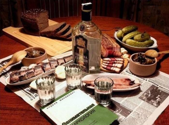 вкусные фото водка и закуска -03