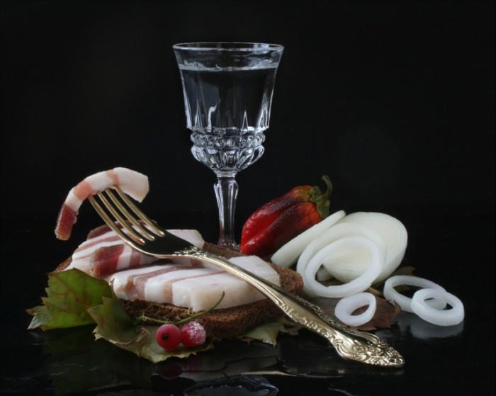 вкусные фото водка и закуска -04
