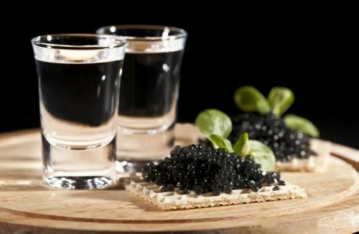 вкусные фото водка и закуска -10