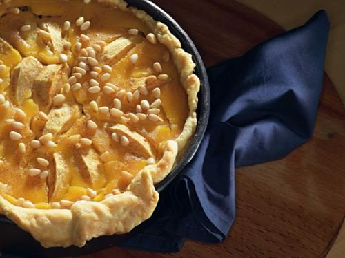яблочный пирог с медом- 01