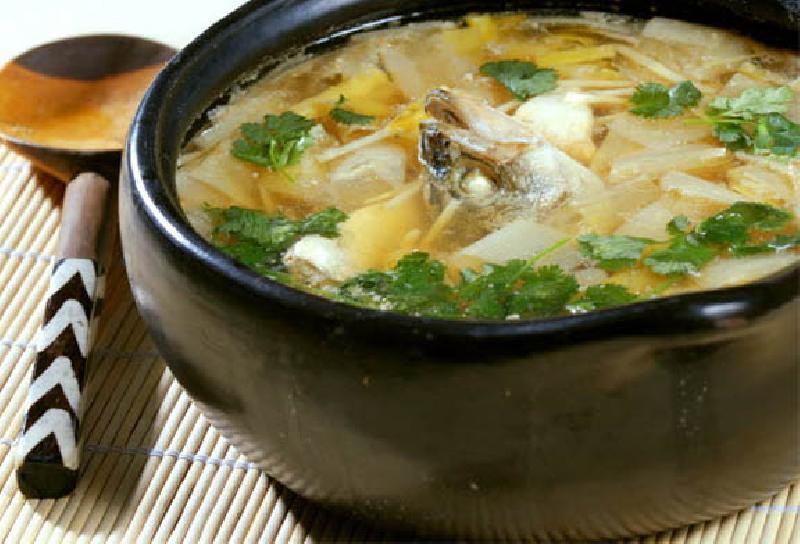 рецепт вкусной ухи из речной рыбы