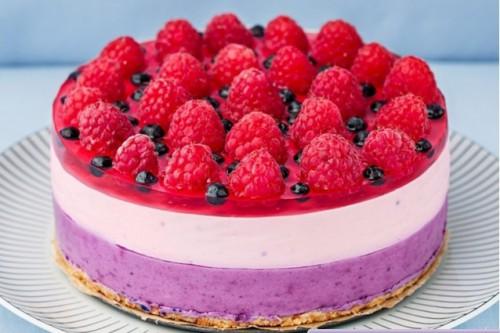 чернично-малиновый десерт - 01