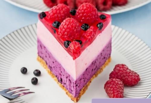 чернично-малиновый десерт - 02