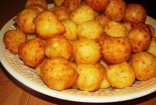 крокеты картофельные с сыром