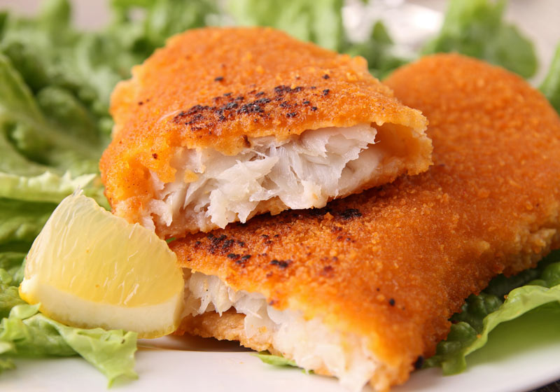Филе рыбы в кляре