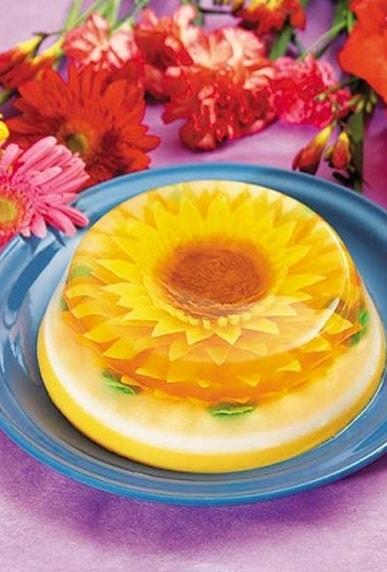украшение блюд из желе - 08