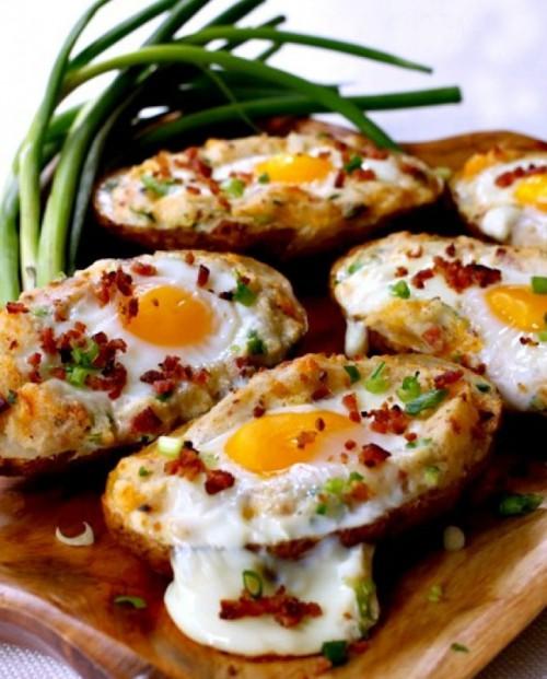 запеченный картофель с яйцом - 02