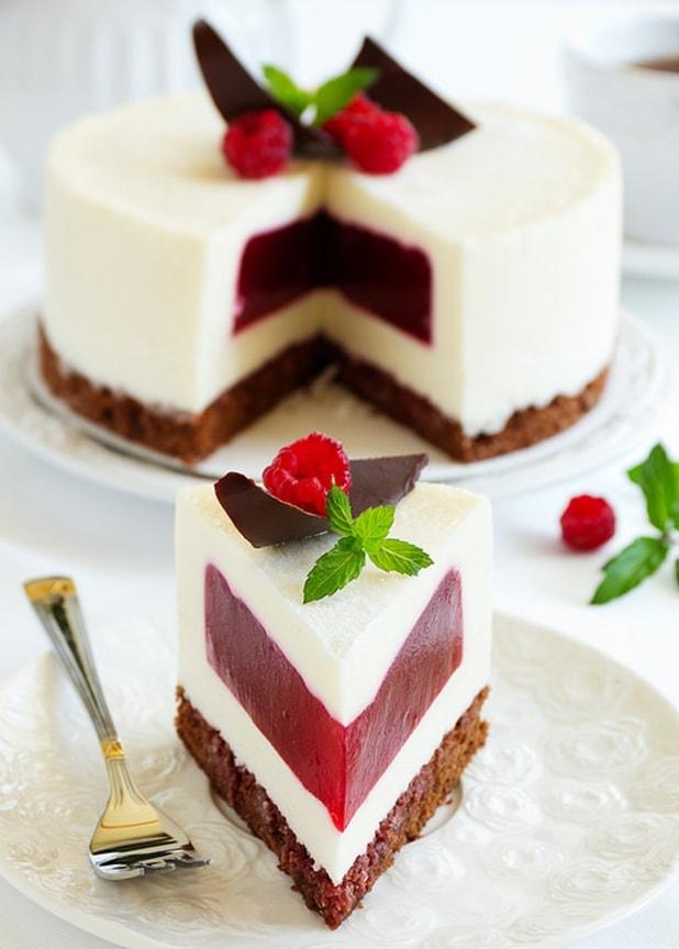 торт малиновая сказка - 02