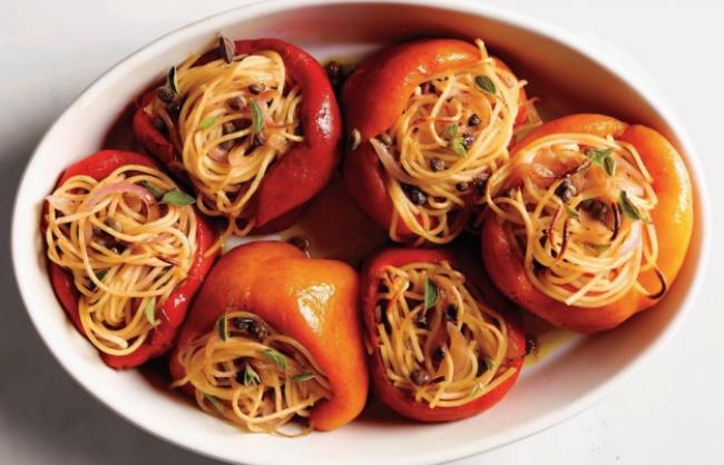 рецепт перца фаршированого
