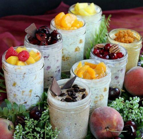 ленивая овсянка вкусный завтрак - 01