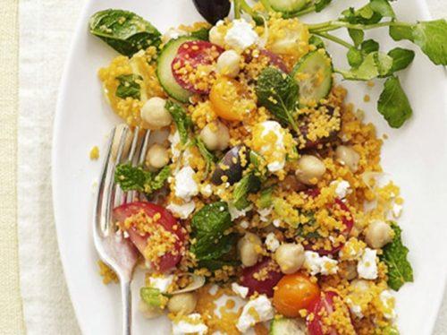 рецепт восточного овощного салата - 01