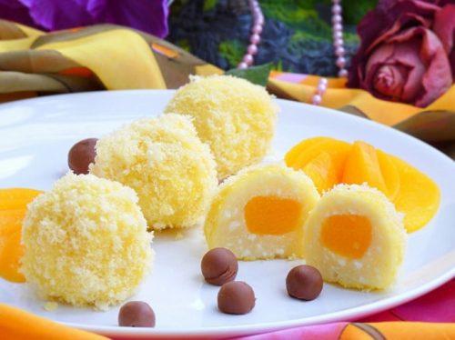 сладкие блюда творожные солнышки