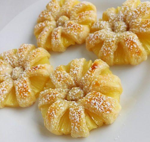 домашние пирожные ананасовые рецепт – 01