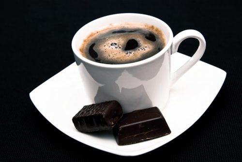 черный кофе с шоколадом рецепт