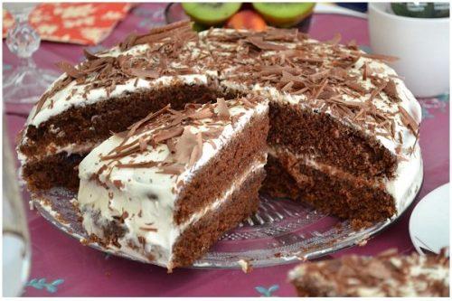торт черный принц рецепт на кефире - 01