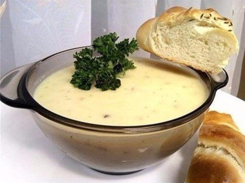 пряный чесночно-сливочный суп рецепт