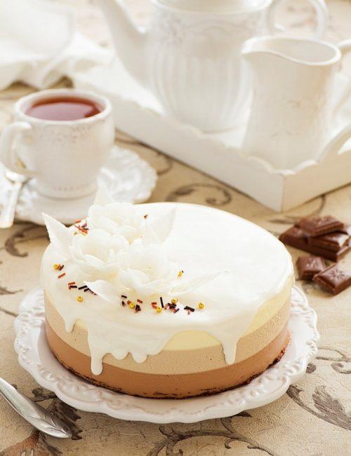 торт Шоколадная сказка рецепт - 02