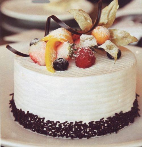 торт мороженое с безе