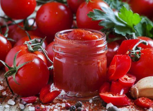 кетчуп домашний томатный Рубиновый
